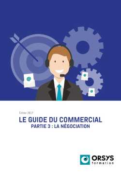 Guide Commercial - ORSYS